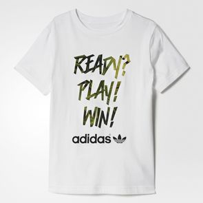 Playera Originals Fútbol Junior