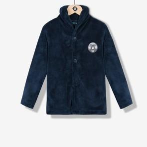 Veste d'intérieur homewear bleu