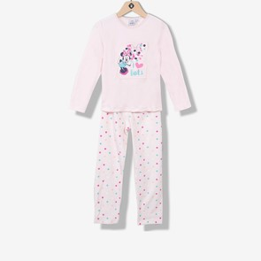 Pyjama fille velours Minnie