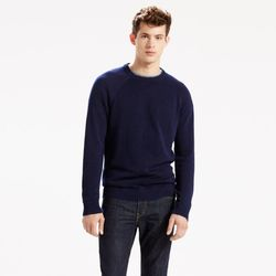 Ribbed Crew Sweater