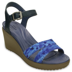 Women's Leigh II Ankle Strap Graphic Wedge