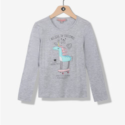 T-shirt fille licorne