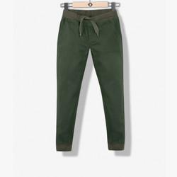 Pantalon confort marron