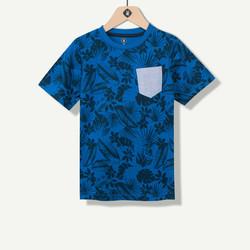 T-shirt garçon imprimé feuillage