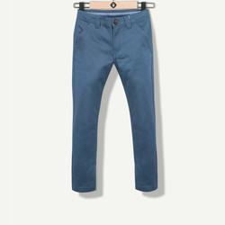 Pantalon garçon chino bleu