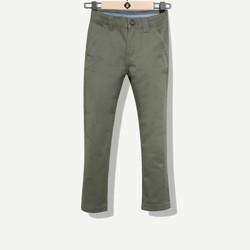 Pantalon garçon chino kaki