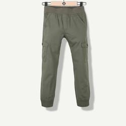 Pantalon garçon en toile kaki