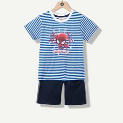 Pyjama garçon court Spiderman