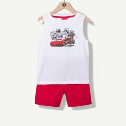 Pyjama garçon court jersey Cars