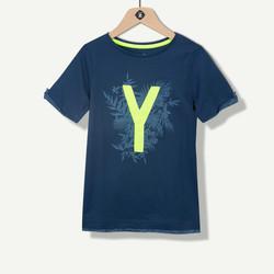 T-shirt garçon indigo