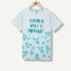 T-shirt garçon imprimé fantaisie