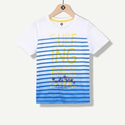 T-shirt garçon effet spray