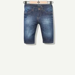 Bermuda garçon en jeans indigo