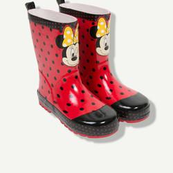 Bottes de pluie Minnie rouges
