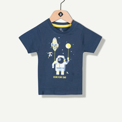 T-shirt astronaute rouge