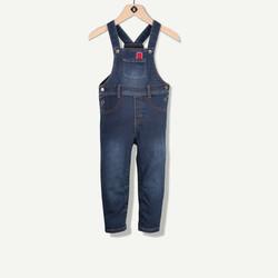 Salopette effet jeans