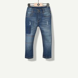 Jeans effet délavé