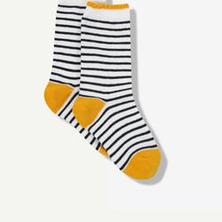Paire de chaussettes à rayures