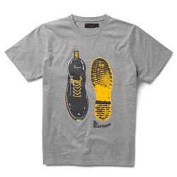 BOOT PRINT SHORT SLEEVE T-SHIRT