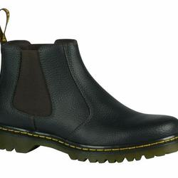 Yuma Chelsea Boot Dark Brown Grainy