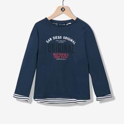 T-shirt garçon fausse superposition