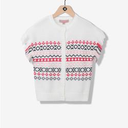 Gilet poncho tricot