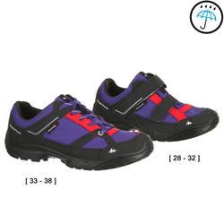 Arpenaz 50 Children's Waterproof Hiking Shoes - Tulip