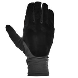 Forclaz 400 Hybrid Adult Hiking Gloves-Black