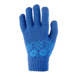 Multi-day walking warm youth gloves QUECHUA