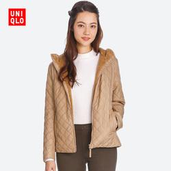 Women Crimping imitation cashmere hooded jacket 400721 