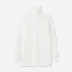 Men HEATTECH EXTRA WARM two T-shirt collar (sleeve 9 minutes) 400 228