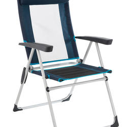 Tilting camping chair / hiker's camp