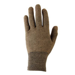 Khaki Trek 500 mountain trekking liner gloves