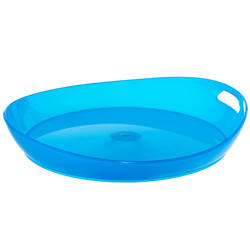 Outdoor sports light and durable plastic camping platter