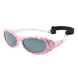 Kid 300 W Children Hiking Sunglasses Ages 2-4 Category 4 - Pink Flowers