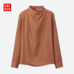 Women's fancy high-necked T-shirt (long sleeves) 400 525