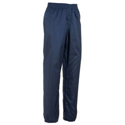 Hike 100 Children's Waterproof Hiking Overtrousers - Navy