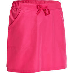 Outdoor sports quick-drying breathable women's skirts QUECHUA Arpenaz 50 women's hiking skort