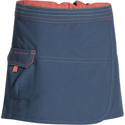 Hike 500 Children's Girl's Short Hiking Skirt - Coral