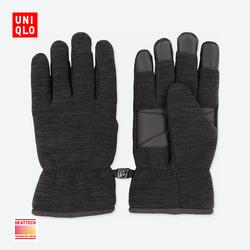 Men HEATTECH lined with fleece gloves 400,045