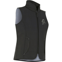 Accessy Children's Sleeveless Horse Riding Gilet - Carbon Grey
