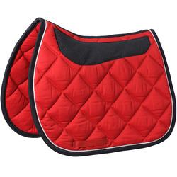 Equestrian comfort sweat saddle pad FOUGANZA