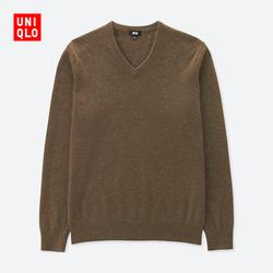 Men's cashmere V-neck sweater (long sleeves) 400 643