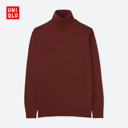 Men's worsted merino two lapel sweater (long sleeves) 400 624