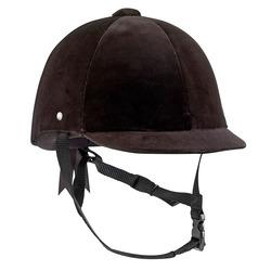 C400 Velour Horse Riding Hat Size 52 to 59 cm