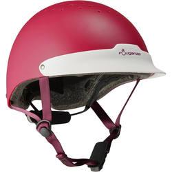 100 Horse Riding Helmet - Turquoise