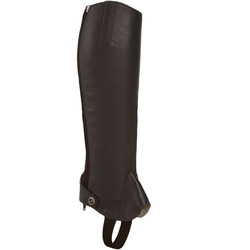 700 adult horse riding LEATHER half chaps