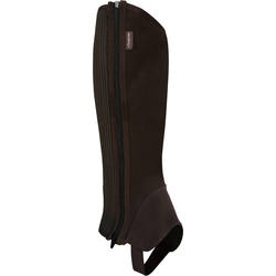 Sentier Adult Gusseted Horse Riding Half Chaps