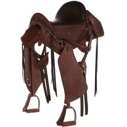 Escape Horse Riding Leather Saddle for Hacking