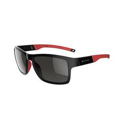 Walking 700 Fitness Walking Sunglasses Category 3 - Black & Red